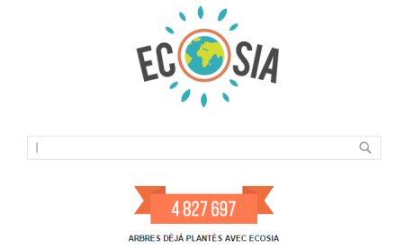 Ecosia un moteur de recherche eco-citoyen