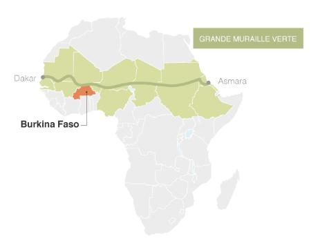 La grande muraille verte en Afrique