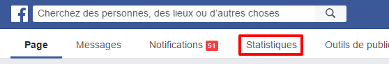 Statistiques sur Facebook