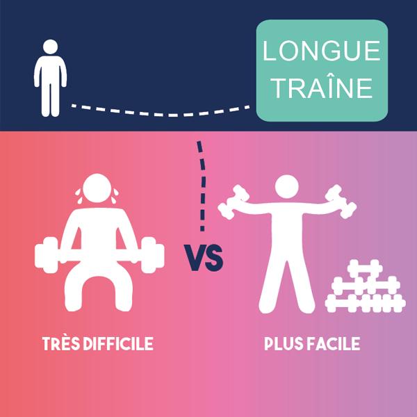 Infographie referencement: L'importance du concept de longue traîne !