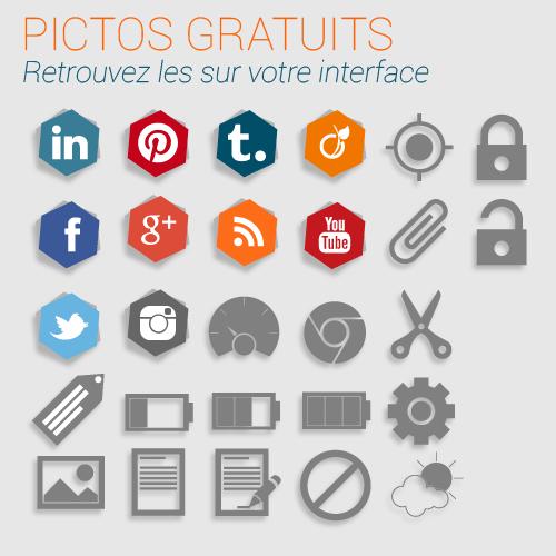 pictos et images gratuites et libres de droits