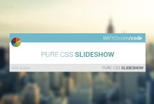 SIMPLE CSS SLIDESHOW