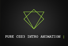 PURE CSS INTRO ANIMATION