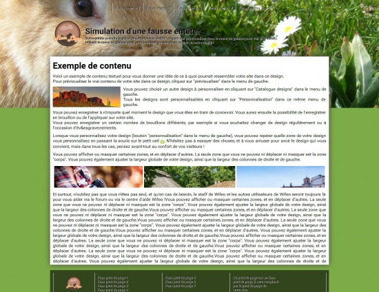 Cr er un site de rongeurs avec nos designs animaux for Site architecture gratuit