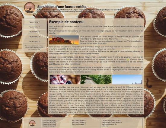 Cr er un site de boulangerie et patisserie avec nos designs cuisine gastronomie - Creer un site de cuisine ...
